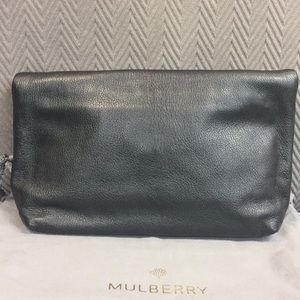 045ee91f08 Mulberry Bags - Mulberry Clemmie Clutch Glossy Goat in Black